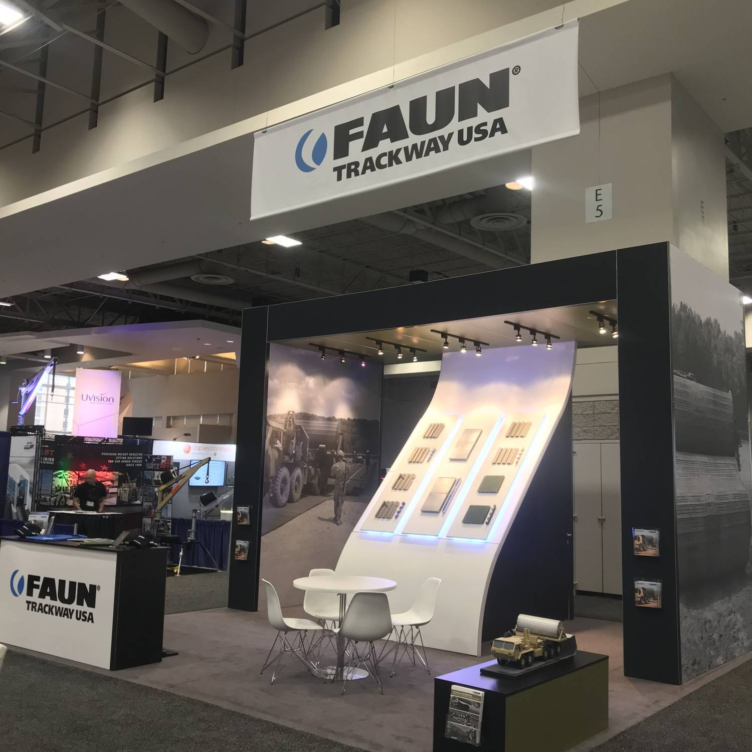 Expo Exhibition Stands Washington Dc : Ausa our best exhibition booth yet atu faun trackway usa inc